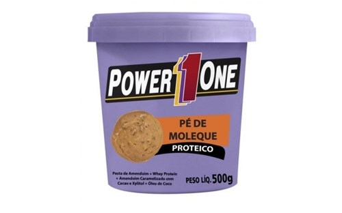Tudo sobre 'Pasta Amendoim Power One 500G (Pé de Moleque)'