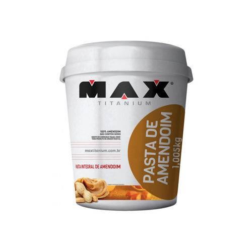 Tudo sobre 'Pasta de Amendoim 1kg - Max Titanium'