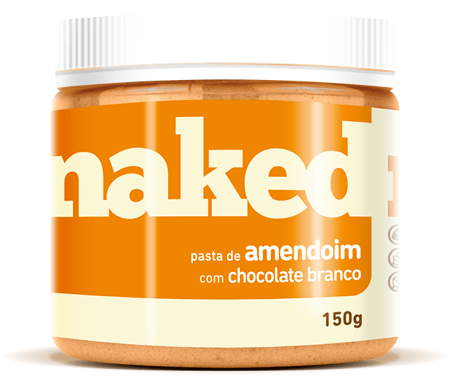 Pasta de Amendoim com Chocolate Branco 150g - Naked Nuts
