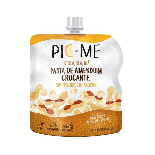 Pasta de Amendoim Crocante 200g - Pic me