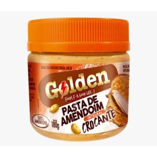 Pasta de Amendoim Golden Ville - Crocante (180g)