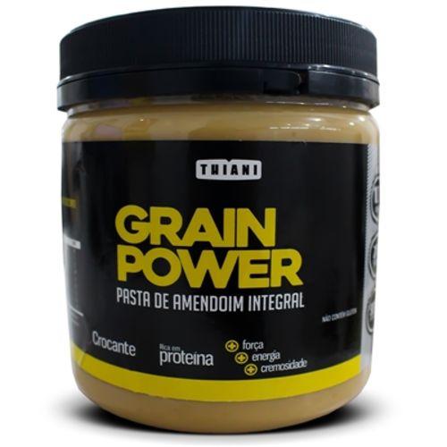 Pasta de Amendoim Grain Power Crocante (500g) - Thiani