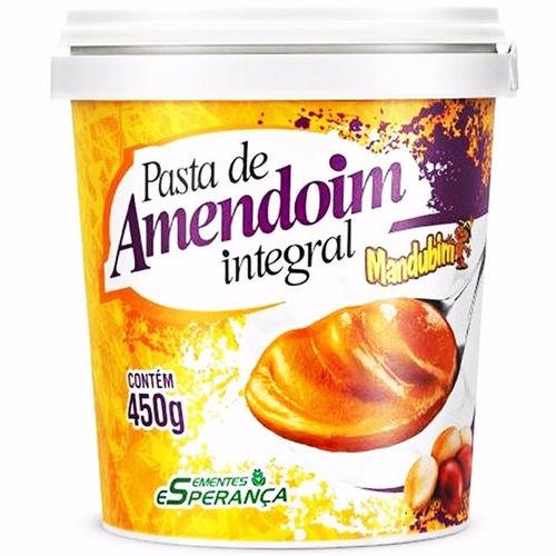 Pasta de Amendoim Integral 450 Gr- Mandubim