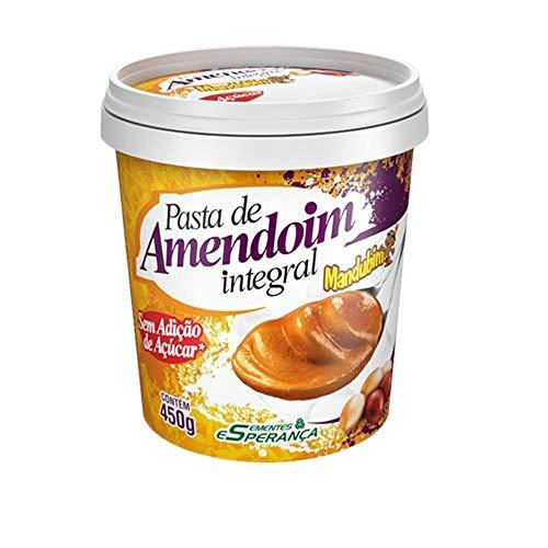 Pasta de Amendoim Integral 450gr - Mandubim