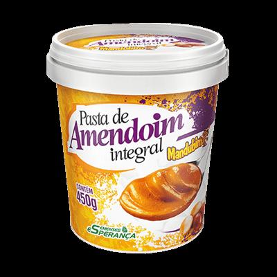 Pasta de Amendoim Integral - Mandubim (450g)