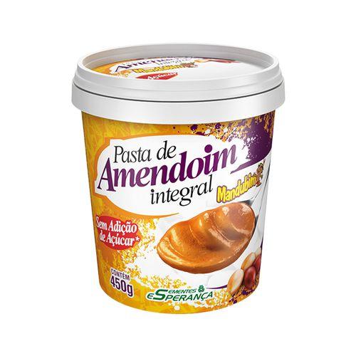 Pasta de Amendoim - Mandubim - 450g