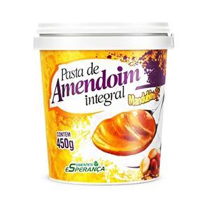 Pasta de Amendoim Mandubim Integral 450g - 450 G