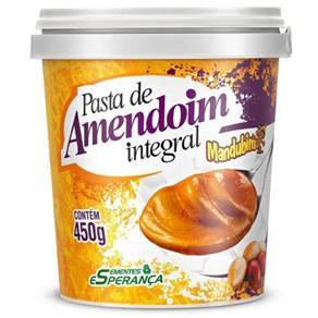 Tudo sobre 'Pasta de Amendoin Integral Mandubim - Amendoim - 450 G'