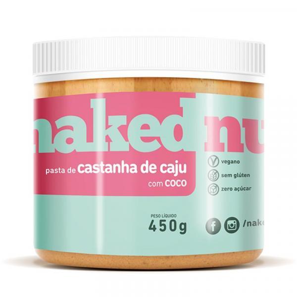 Tudo sobre 'Pasta de Castanha de Caju C Coco 450g - Naked Nuts'