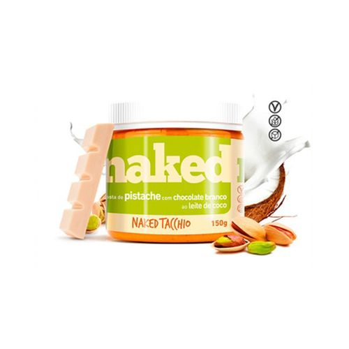 Pasta de Pistache com Chocolate Branco (150g) Naked Nuts