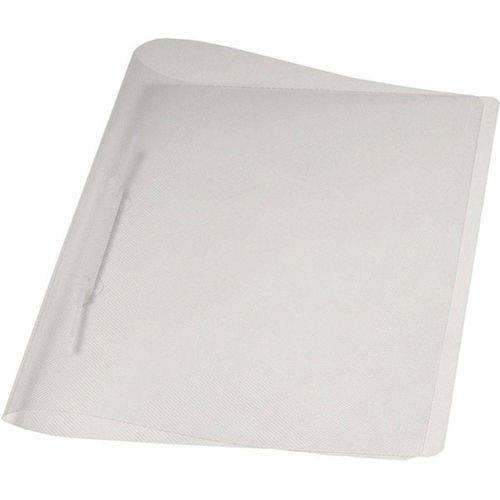 Tudo sobre 'Pasta Plástica Soft com Grampo Trilho Cor Cristal Polibrás Ref. 160617'