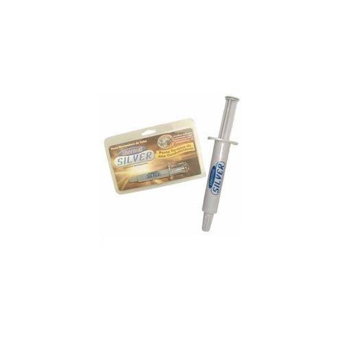 Pasta Térmica Silver de Alta Condutividade com Prata Thermal Silver Blister