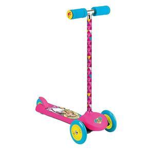 Patinete Barbie Fabuloso 3 Rodas - Fun Toys