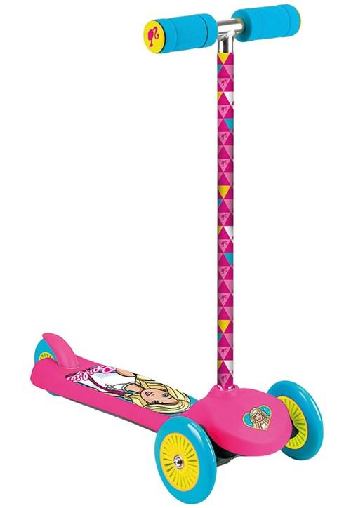 Patinete Barbie Fabuloso Tri Wheels Fun Divirta-Se