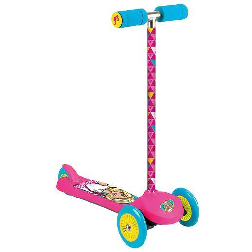 Patinete Fabuloso Triwheels Barbie - Fun Divirta-se