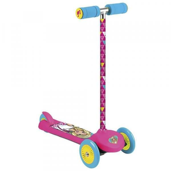 Patinete Barbie Tri Wheels Fun - Barao Atacadista