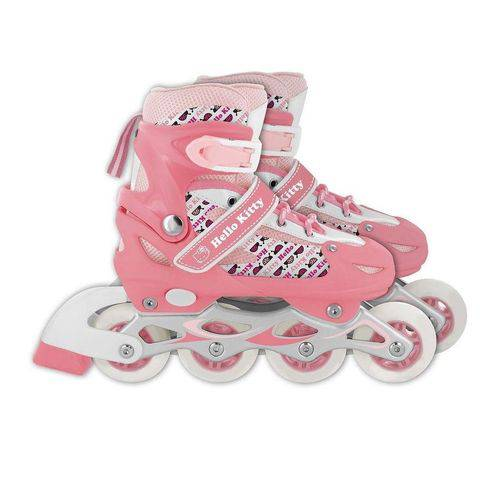 Patins Hello Kitty Rosa Tam M 35 a 38 - Multikids