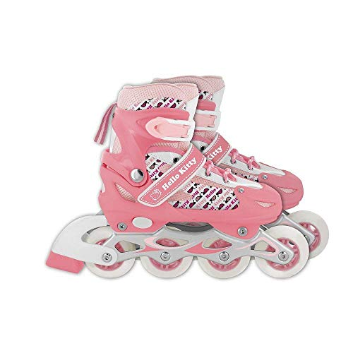 Patins Hello Kitty Rosa Tam P 31 a 34 - Multikids
