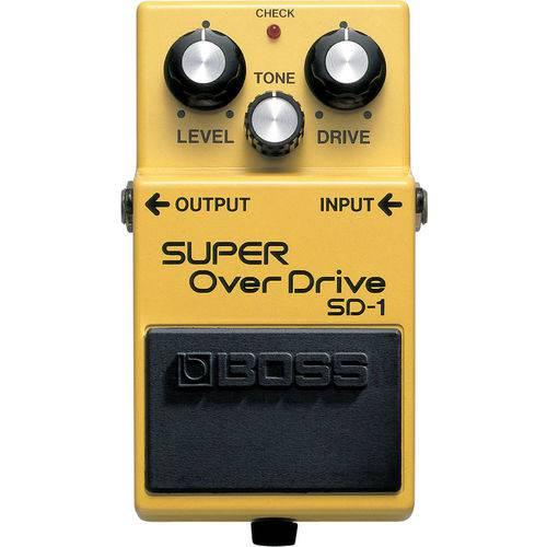Tudo sobre 'Pedal Boss Sd1 Super Overdrive'