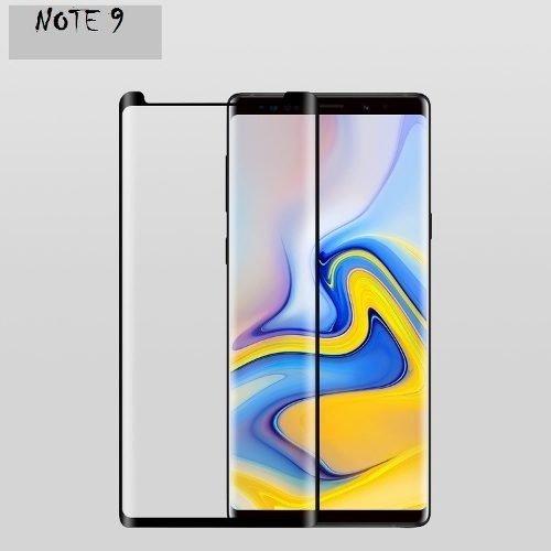 Tudo sobre 'Película 3D Vidro Galaxy Note 9 Tela Curv Cola na Tela Toda'