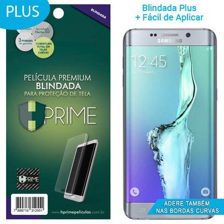 Tudo sobre 'Película Hprime Curves Plus para Samsung Galaxy S6 Edge Plus'