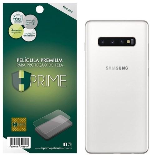 "Película Hprime para Samsung Galaxy S10 Plus 6.4"" - Verso - Pet Invisí..."