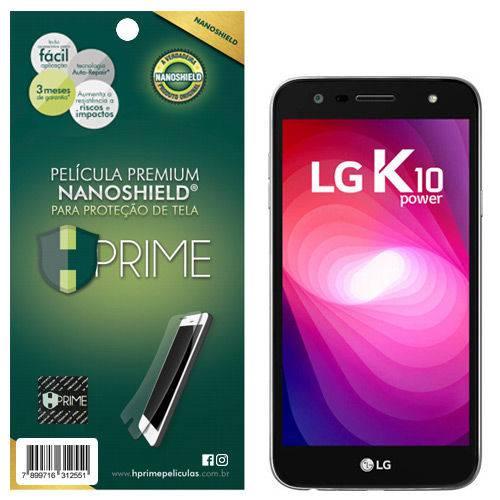 Película Premium HPrime Lg K10 Power / NanoShield®