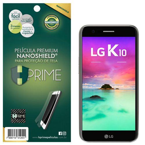 Película Premium NanoShield Hprime LG K10 2017 - Hprime Películas