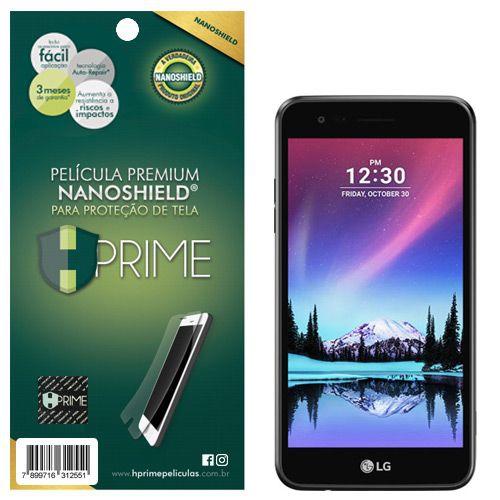 Película Premium NanoShield Hprime LG K4 2017 - Hprime Películas