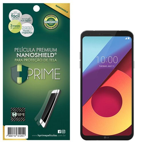 Película Premium NanoShield Hprime LG Q6 - Hprime Películas