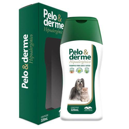Tudo sobre 'Pelo e Derme Shampoo Hipoalergenico 300ml'