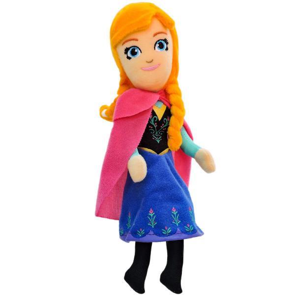 Pelúcia Anna Frozen Boneca Princesa Disney - Taimes