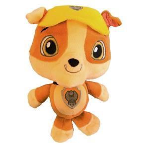 Pelúcia Baby Patrulha Canina Sunny Rubble - 25 Cm