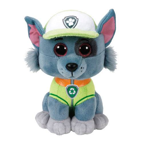 Tudo sobre 'Pelúcia Beanie Boos Rocky - Patrulha Canina'
