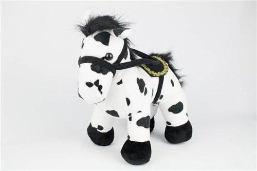 Pelúcia - Cavalo (Avulso - Preto e Branco)