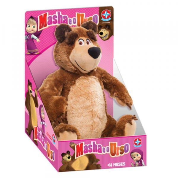 Pelúcia Masha e o Urso - Pelúcia Urso - Estrela