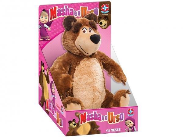 Pelúcia Masha e o Urso - Urso - Estrela