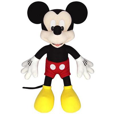 Pelúcia Mickey Mouse - 30 Cm - Long Jump - Disney