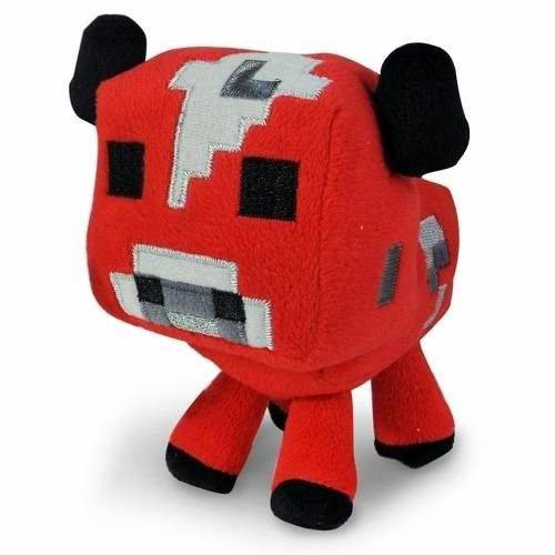 Tudo sobre 'Pelucia Minecraft Baby Mooshroom - Multikids'