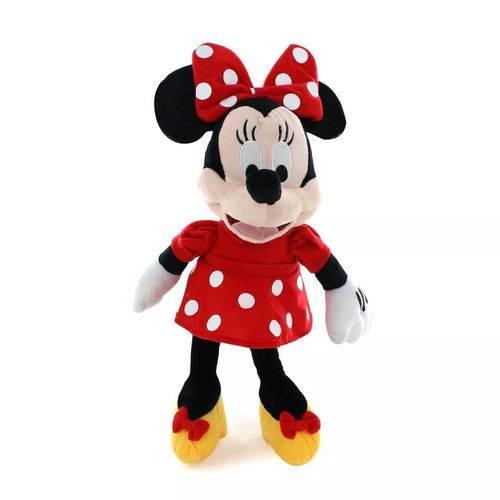 Tudo sobre 'Pelucia Minnie Mouse com Som 33cm Disney Br333'