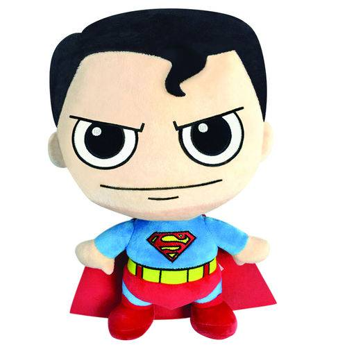 Tudo sobre 'Pelúcia Super Fun DTC - Liga da Justiça - Superman'