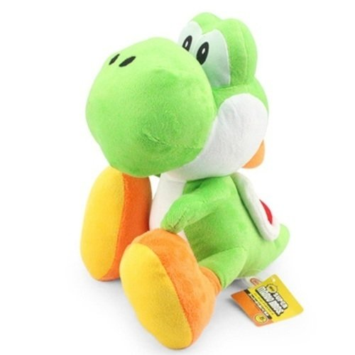 Tudo sobre 'Pelúcia Super Mario Bros Yoshi'