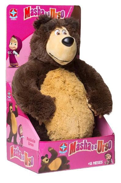 Pelúcia Urso Masha 40 Cm Estrela