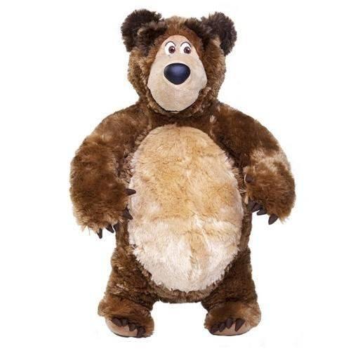 Pelucia Urso Masha e o Urso Estrela 00008