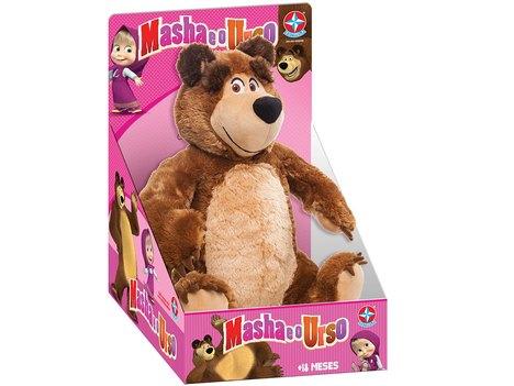 Pelúcia Urso - Masha e o Urso - Estrela Estrela