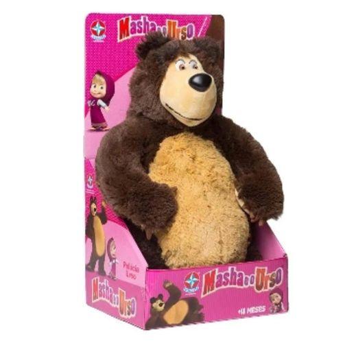 Pelucia Urso - Masha e o Urso - Estrela
