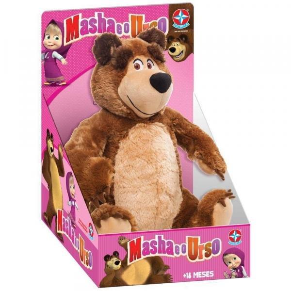 Pelucia Urso Masha e o Urso - Estrela