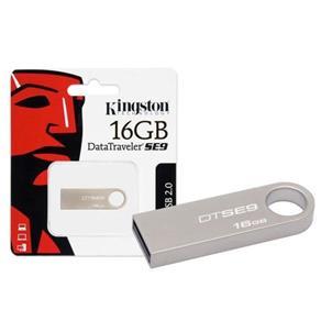 Pen Drive 16GB Kingston DT SE9 Prata