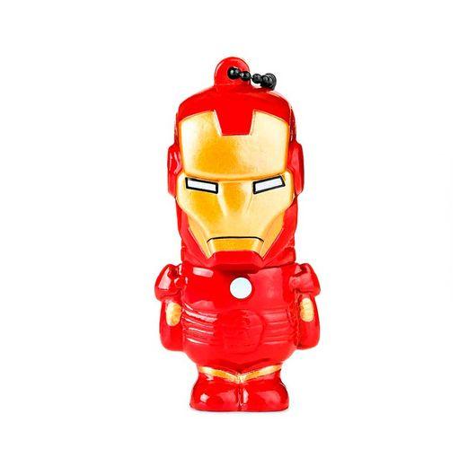 Pen Drive 8GB Homem de Ferro Marvel Multilaser - 081