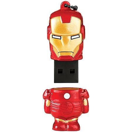 Pen Drive 8gb Marvel Vingadores Homem de Ferro - Multilaser